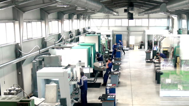 metal processing plant timelapse. - production line worker stock videos & royalty-free footage