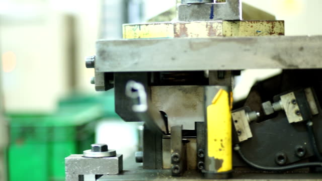 metal stamping machine - seal stamp stock videos and b-roll footage