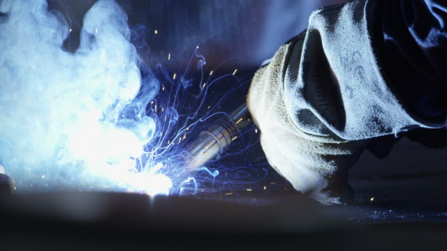 metal worker welding - telemark stock videos and b-roll footage