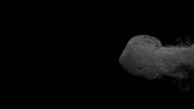 金属粒子 - 銀点の映像素材/bロール
