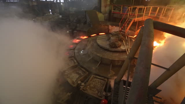 metallurgical machinery at the jsc kola mining and metallurgical co plant, a unit of mmc norilsk nickel pjsc, in monchegorsk, russia, on thursday,... - nickel stock videos & royalty-free footage