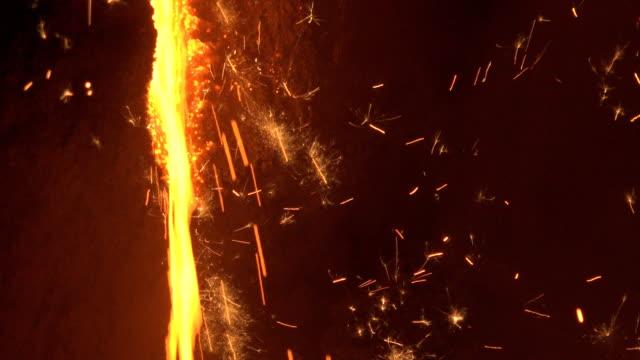 metallurgical production - 金属融解点の映像素材/bロール
