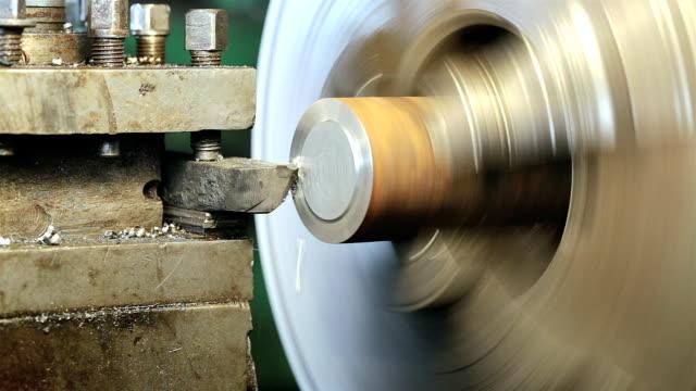 vídeos y material grabado en eventos de stock de metalurgia, producción, máquina herramienta - parte de