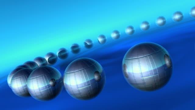 Metals balls HD1080, NTSC, PAL
