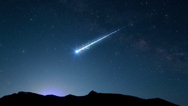 meteor and comet full details - light trail stock videos & royalty-free footage