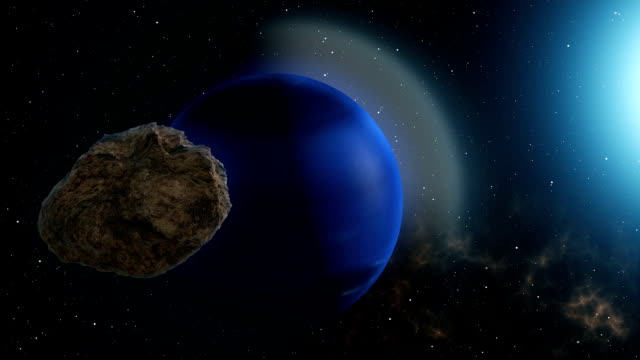Meteor Flies to Neptune