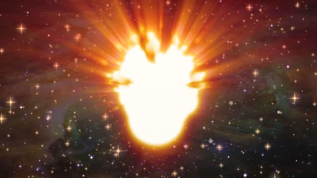 Meteoro Voar através do Espaço