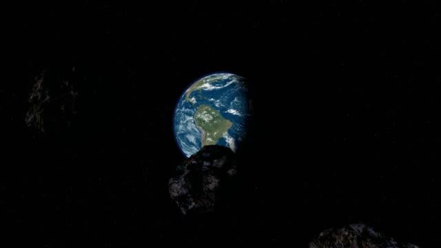 流星見出しをアース - 隕石孔点の映像素材/bロール