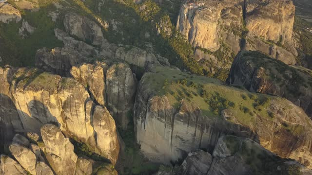 meteora viewed from the air - 1989 stock videos & royalty-free footage