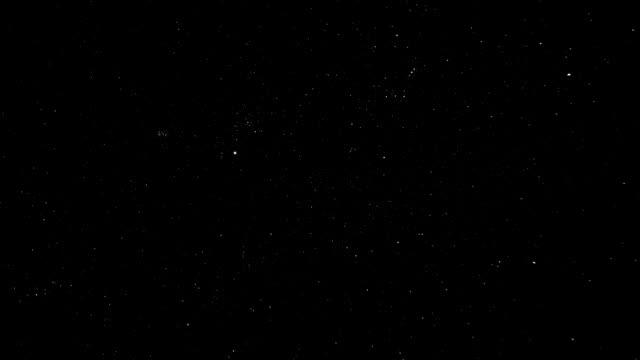 meteostorm から gemini - 流星点の映像素材/bロール