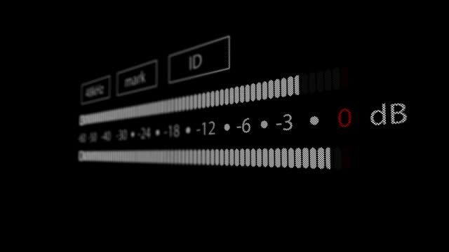 vídeos y material grabado en eventos de stock de medidor de unidades de volumen de dat registrador - tiempo real grabación