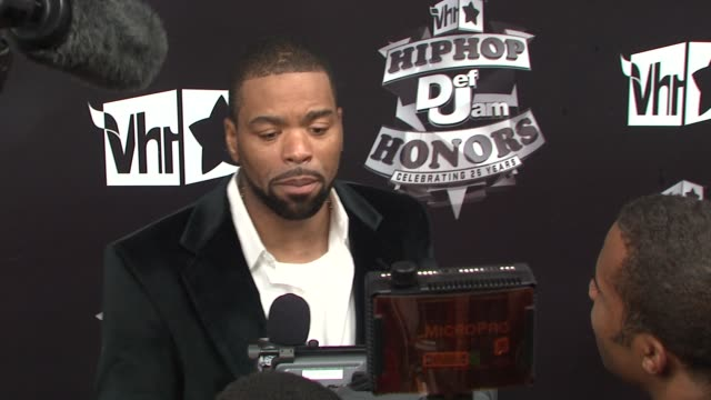 stockvideo's en b-roll-footage met method man at the 2009 vh1 hip hop honors red carpet at new york ny - vh1