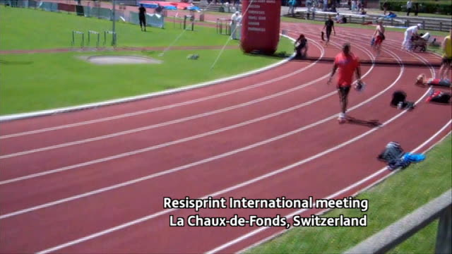 400 metre runner conrad williams video diary sussex gatwick airport int early saturday morning conrad williams along at airport pan to poster showing... - sports poster stock videos & royalty-free footage