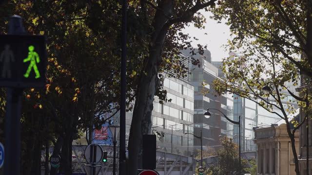 metro exterior in paris - france stock videos & royalty-free footage