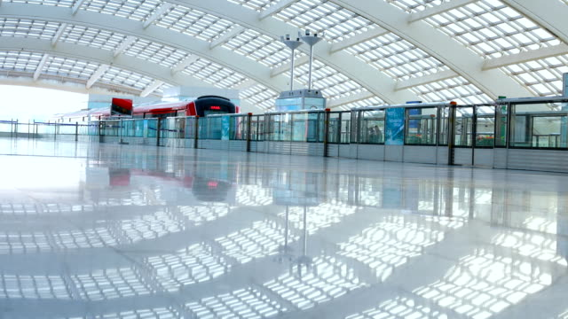 Metro in beijing T3 airport station