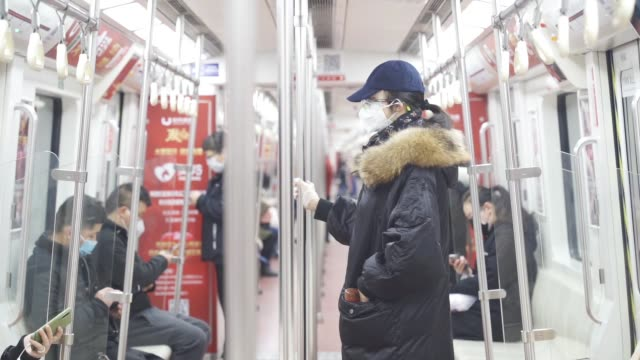 metro interior - epidemic stock videos & royalty-free footage