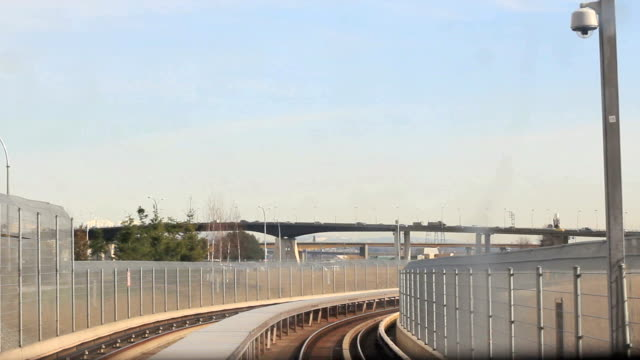 metro lrt pov - vancouver canada stock videos & royalty-free footage