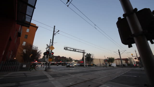 Metro Rail Crossing Intersection
