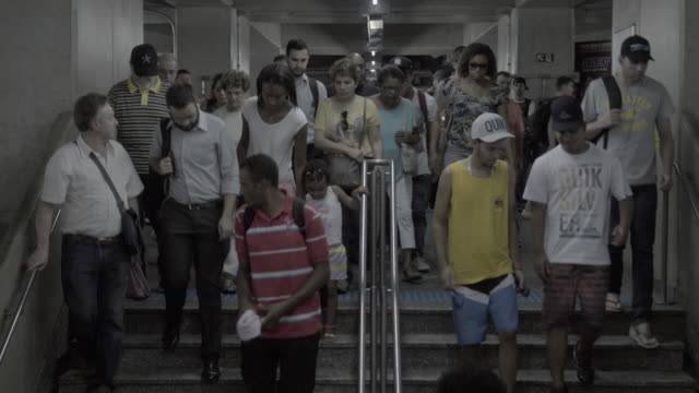 metro station people movement timelapse - steps and staircases stock videos & royalty-free footage