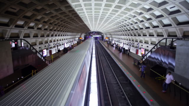 metro station - dupont circle stock videos & royalty-free footage