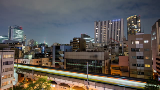 T/L 8 K 地下鉄東京で夜間訓練します。