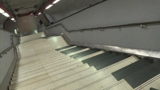 Metro users at Mexico's Polanco station have a good reason to use the stairs rather than the escalator since its steps have been turned into a giant...