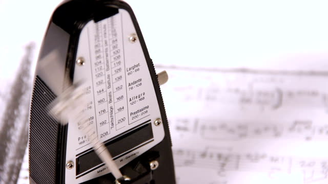 metronome - musical symbol stock videos & royalty-free footage