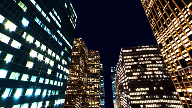 metropolis at night - travel destinations stock videos & royalty-free footage