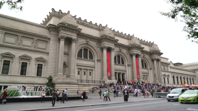 metropolitan museum of art, new york city - museum stock videos & royalty-free footage