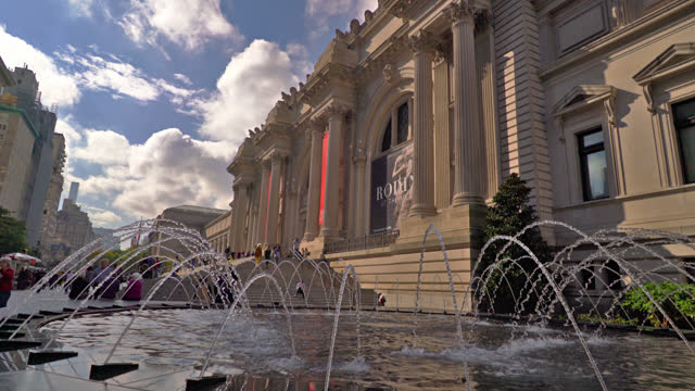metropolitan museum of art - metropolitan museum of art new york city stock videos & royalty-free footage