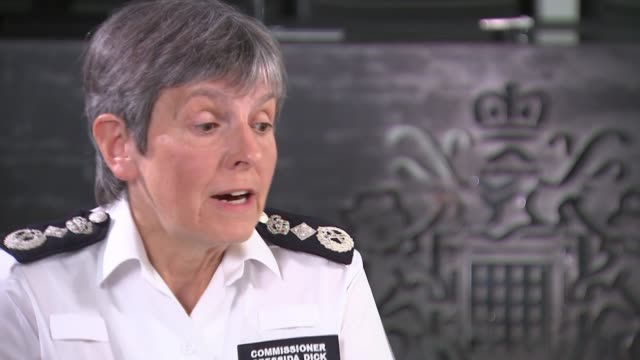 metropolitan police accused of abusing stop and search powers england london int dame cressida dick interview sot [re met police 'stop search'... - cressida dick stock videos & royalty-free footage