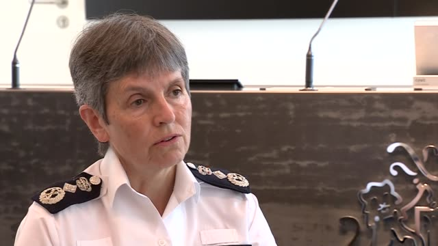 metropolitan police commissioner cressida dick 'dumbfounded' by allegations that two officers shared selfies at murder scene england int dame... - crime and murder stock-videos und b-roll-filmmaterial