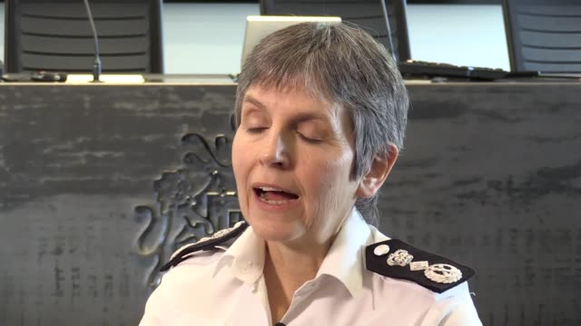 metropolitan police commissioner cressida dick says the police has been completely transformed in the 20 years since the macpherson report was... - cressida dick stock videos & royalty-free footage