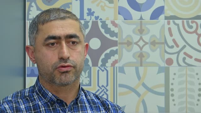Metropolitan Police medic accused of punching protester during Kurdish march INT Tacim Kasakol interview SOT