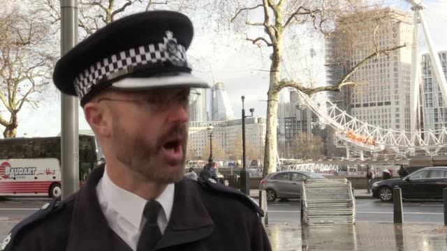 Metropolitan Police Superintendent Nick Aldworth admits there will be fewer police officers at the New Year's Eve celebrations in the capital than...