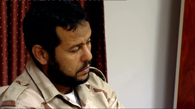 metropolitan police to investigate mi6 over libyan rendition allegations; t06091124 libya: tripoli: abu salim prison track forward past open prison... - mi6 stock-videos und b-roll-filmmaterial