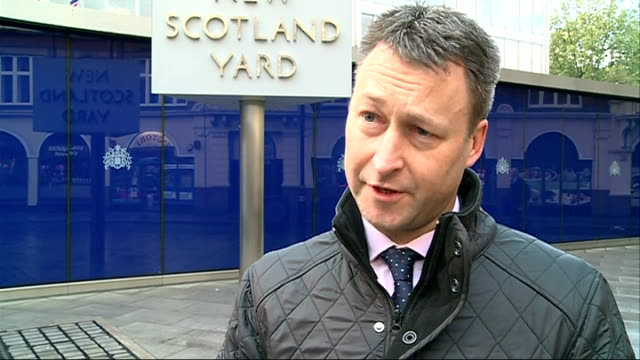 metropolitan police to start first guns amnesty in 6 years england london new scotland yard ext detective chief superintendent dean haydon interview... - detective stock videos and b-roll footage