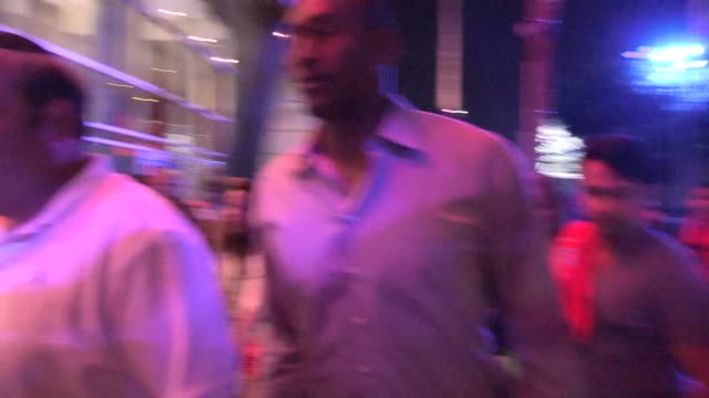 metta world peace greets fans whiledeparting from la clippers oklahoma city thunder game 6 at staples center in los angeles at celebrity sightings... - oklahoma city thunder basketball team stock videos and b-roll footage