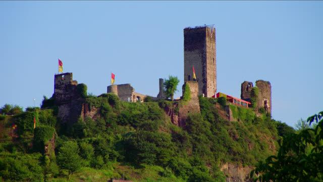 Metternich castle ruins in medieval village Beilstein