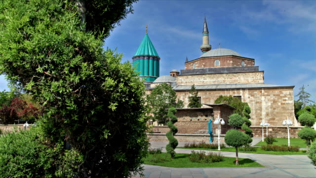 mevlana museum konya - konya stock videos and b-roll footage