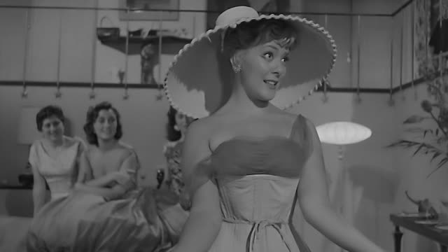 mexican actress silvia pinal singing at bachelorette party 1958 dramatization - 1958 stock videos & royalty-free footage