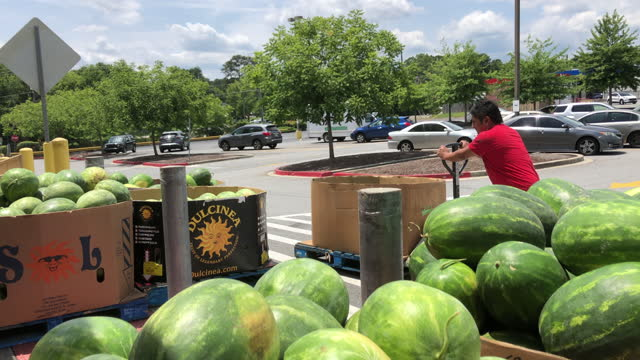 mexican and asian focused grocery in atlanta - freshness stock videos & royalty-free footage