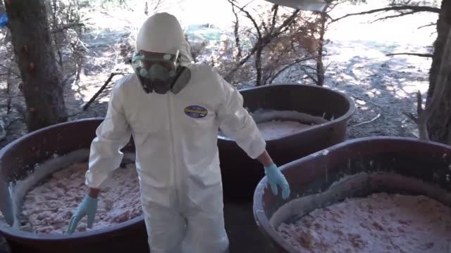 mexican army locates a clandestine methamphetamine laboratory near la rumorosa town in tecate baja california state mexico - recreational drug stock videos & royalty-free footage