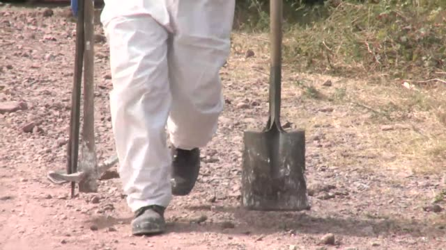 mexican authorities discovered at least 17 bodies dumped in an unmarked grave outside the western city of guadalajara after arresting a suspected... - prosecutor stock videos & royalty-free footage