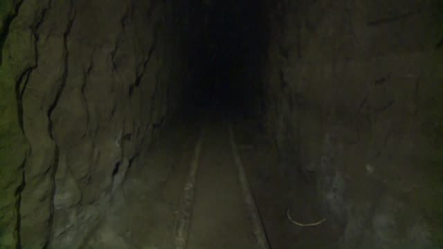 mexican authorities gave access to the 15 km long tunnel drug kingpin joaquin el chapo guzman used to escape from a maximumsecurity jail - tunnel stock videos & royalty-free footage