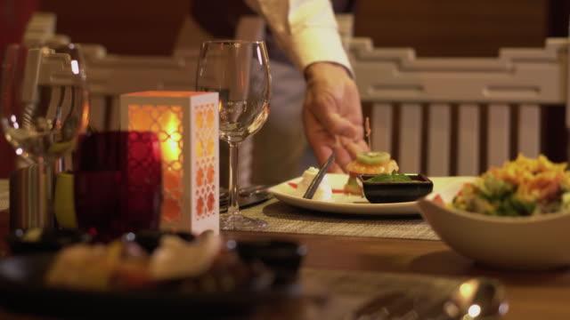 mexican fajitas - fancy meal stock videos & royalty-free footage
