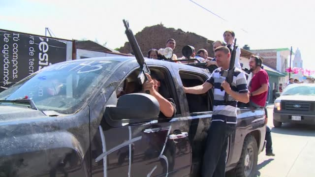mexican federal forces launched an offensive tuesday to take over security in a violencetorn western state seizing a drug cartel's bastion and... - drug cartel stock videos and b-roll footage