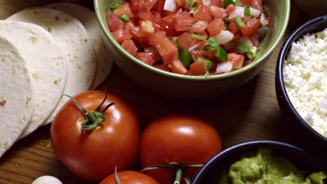 mexican food ingredients - mexican food stock videos & royalty-free footage