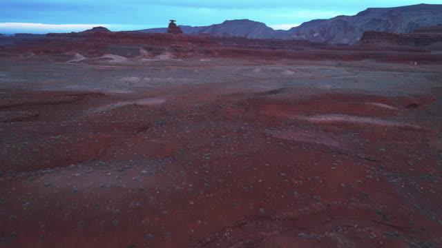 メキシコの帽子 - ユタ州の地層 - 荒野点の映像素材/bロール