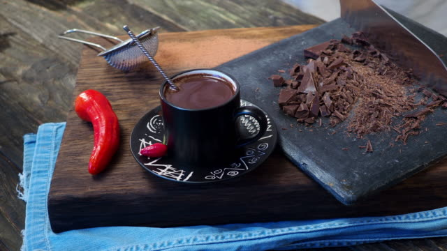 mexican hot chocolate - hot chocolate stock videos and b-roll footage